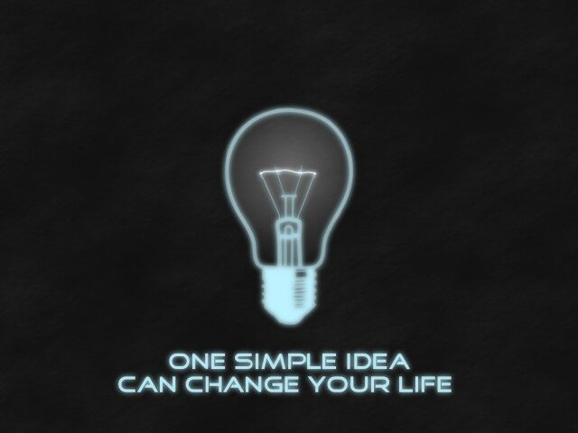 It Starts with A Simple Idea