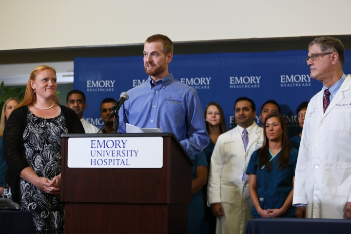 Emory Hospital Releases American Aid Workers Treated For Ebola