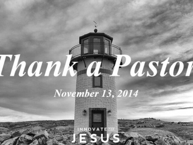 Thank A Pastor