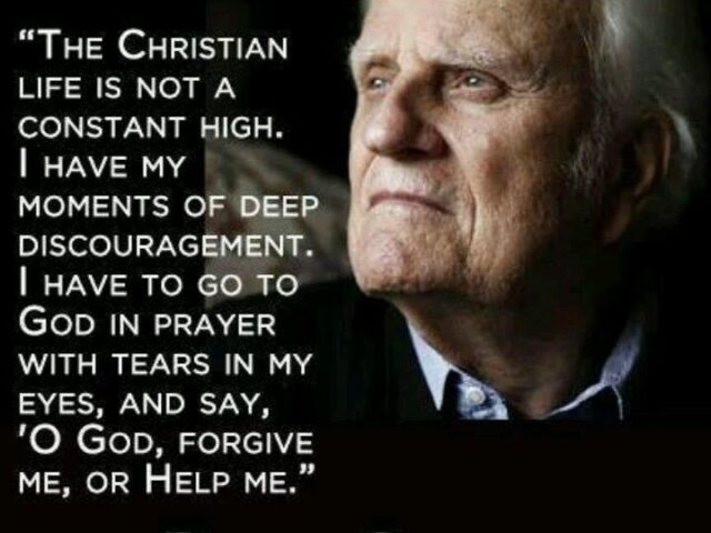 Thank you, Billy Graham!  Happy 99th Birthday!