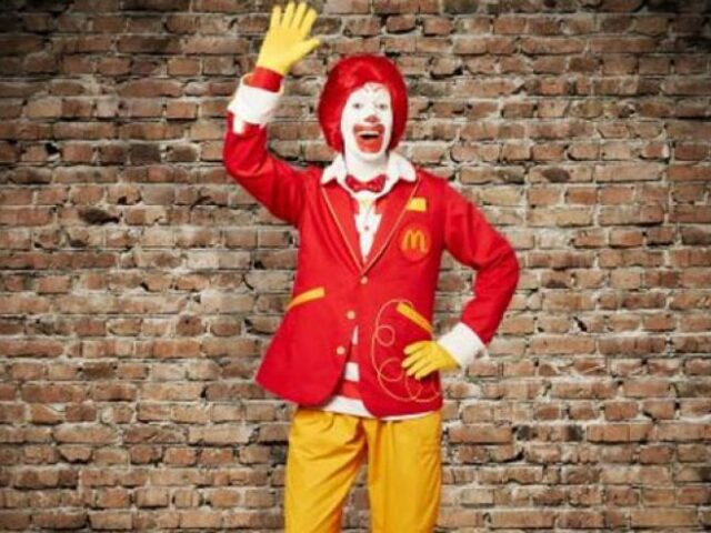 Change…even for Ronald McDonald